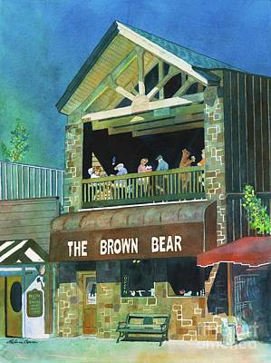 Painting - The Brown Bear by LeAnne Sowa