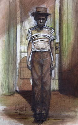 Painting - The Brown Boy by Gregory DeGroat
