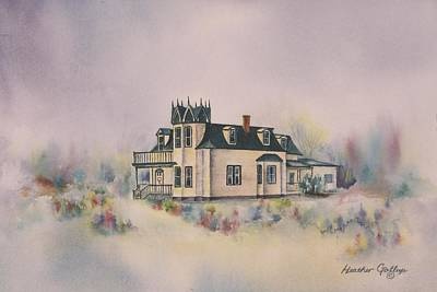 The Brown's Residence Original by Heather Gallup