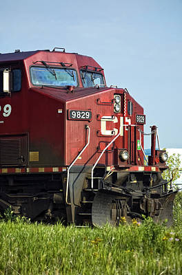 Cp Rail Photograph - The Brute by Steve Harrington