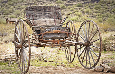 Photograph - The Buckboard Bounce Where West Is West by Lee Craig