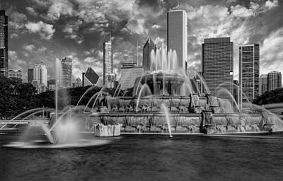 Photograph - The Buckingham In Chicago  by Erwin Spinner