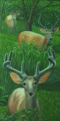 Painting - The Bucks Stop Here by Jill Ciccone Pike