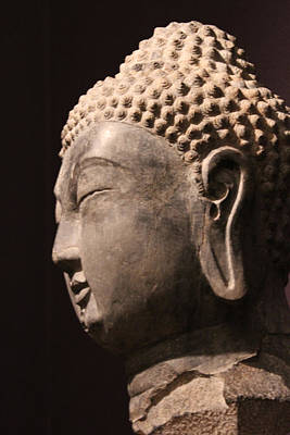 Art Print featuring the photograph The Buddha 2 by Lynn Sprowl
