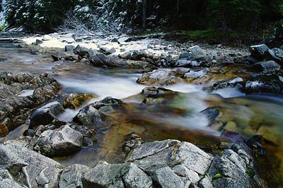 Gelid Photograph - The Bumping River by Jeff Swan
