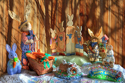 Photograph - The Bunny Ranch by Donna Kennedy