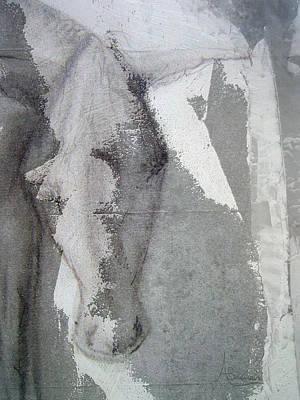 Donkey Mixed Media - The Burden by Angela Burman