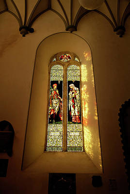 Arts And Crafts Movement Photograph - The Burne-jones Stained Glass Window by Panoramic Images