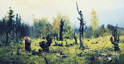 Painting - The Burnt Forest by Roberto Prusso