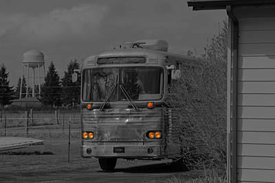 Photograph - The Bus Not Taken by Tikvah's Hope