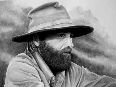 Drawing - The Bushman by Gertrudes  Asplund