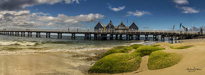 Busselton Photograph - The Busselton Wharf by Andrew Dickman