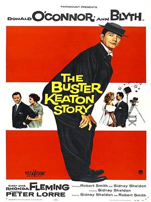 1957 Movies Photograph - The Buster Keaton Story, Us Poster by Everett