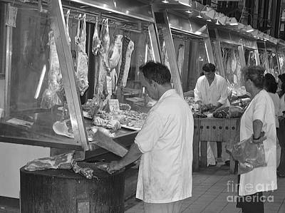 Photograph - The Butchers by Suzanne Oesterling