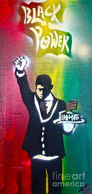 Liberal Painting - The Butler 2 by Tony B Conscious
