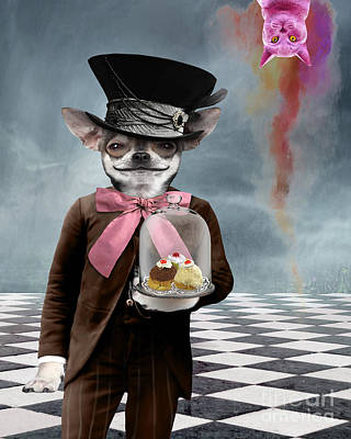 Surreal Digital Art Photograph - The Butler by Juli Scalzi