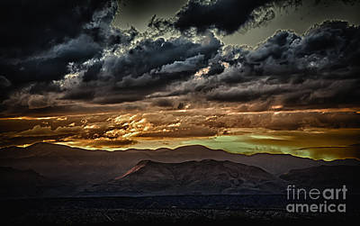 Consequences Digital Art - The Butte by Dee Johnson