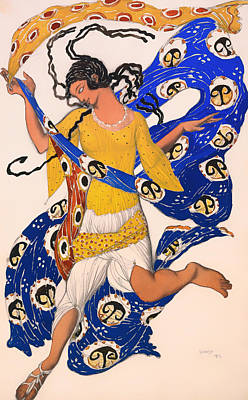Historical Clothing Painting - The Butterfly by Mountain Dreams