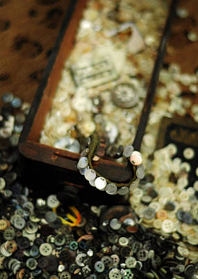 Photograph - The Button Drawer by Rebecca Sherman