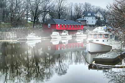 Port Chester Photograph - The Byram River by Diana Angstadt