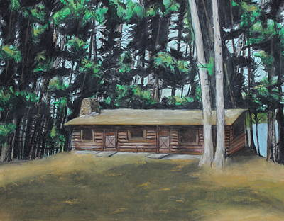 Painting - The Cabin by Jeanne Fischer