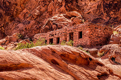 Photograph - The Cabins by  Onyonet  Photo Studios