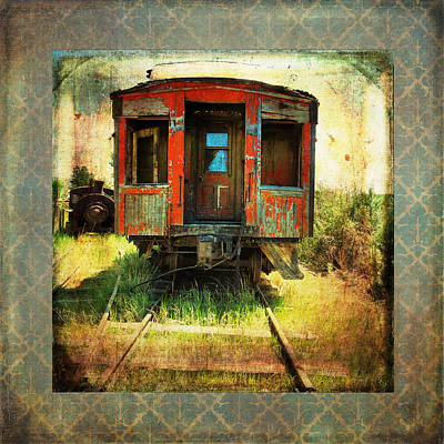 Photograph - The Caboose by Sandra Selle Rodriguez
