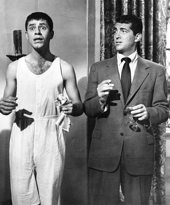 The Caddy, From Left Jerry Lewis, Dean Art Print by Everett