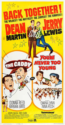 Dean Martin Poster Photograph - The Caddy, Us Poster Art, From Left by Everett