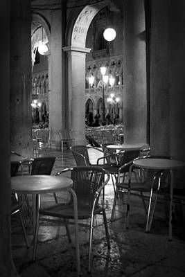 Photograph - The Cafe - Venice by Lisa Parrish