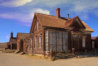 Photograph - The Cain House by Susan Leonard