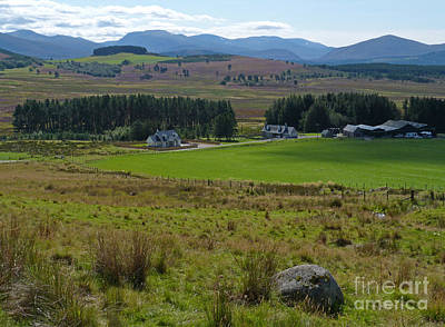 Photograph - The Cairngorms From Corriechullie by Phil Banks