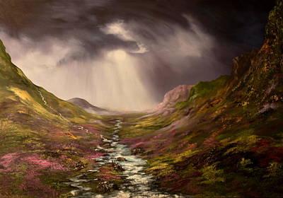 The Cairngorms In Scotland Original by Jean Walker