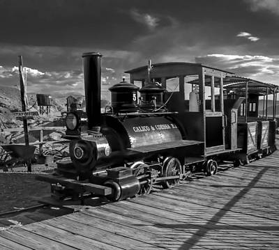 The Calico Express Art Print by Gina Graves