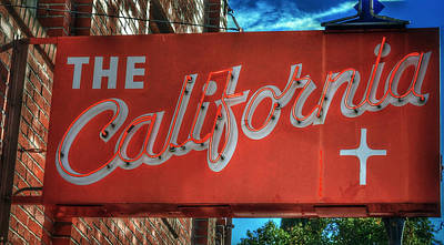 Photograph - The California Club - Old Town Auburn California by Bill Owen