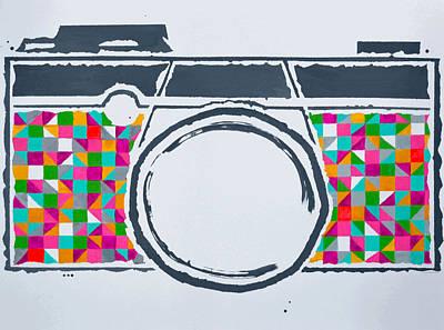 Perception Drawing - The Camera by Morgan Micay