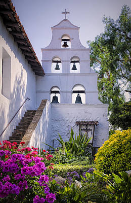 Mission San Diego Photograph - The Campanario by Joan Carroll