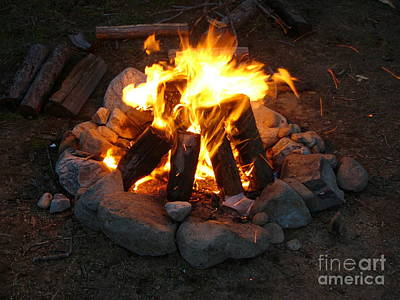 The Campfire Art Print