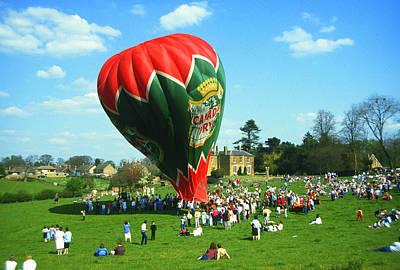 The Canada Dry Balloon Flight Art Print by Gordon James