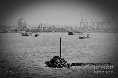 Photograph - The Entrance To The Panama Canal by Rene Triay Photography