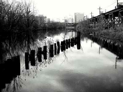 Wall Art - Photograph - The Canal by Mickey Murphy