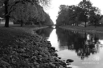 Photograph - The Canal by Randi Grace Nilsberg