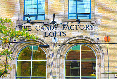 Photograph - The Candy Factory Lofts In Toronto by Nina Silver