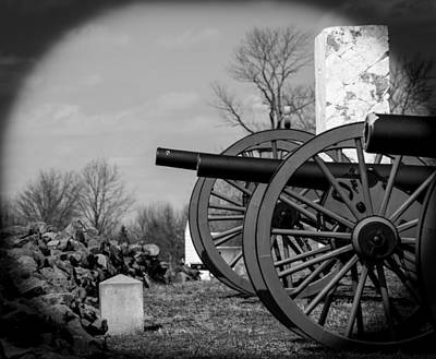 Photograph - The Cannons Of Gettysburg by Kathi Isserman