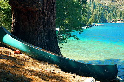 Photograph - The Canoe by Tamyra Crossley