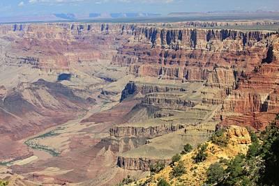 The Canyon Desert View Art Print by Douglas Miller