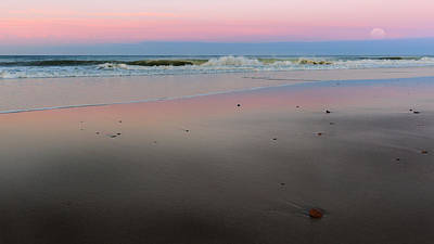 Cape Cod Sunset Photograph - The Cape Cod National Seashore by Bill Wakeley
