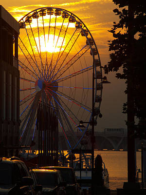 Photograph - The Capital Wheel by James Granberry