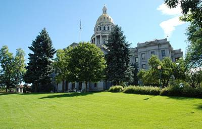 Photograph - The Capitol - Denver by Dany Lison