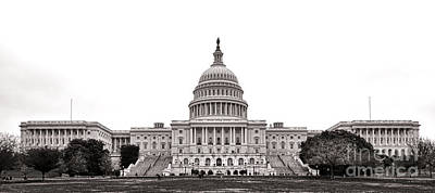 Senate Photograph - The Capitol by Olivier Le Queinec